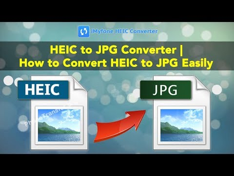 HEIC to JPG Converter | How to Convert HEIC to JPG Easily