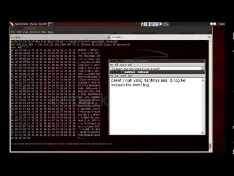 tutorial snort di linux backtrack 5