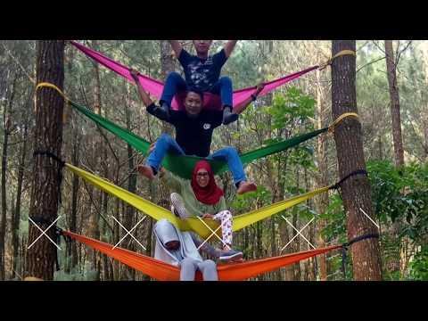 Wisata TOP Selfie Hutan Pinusan Kragilan Keren Magelang Jateng 140418