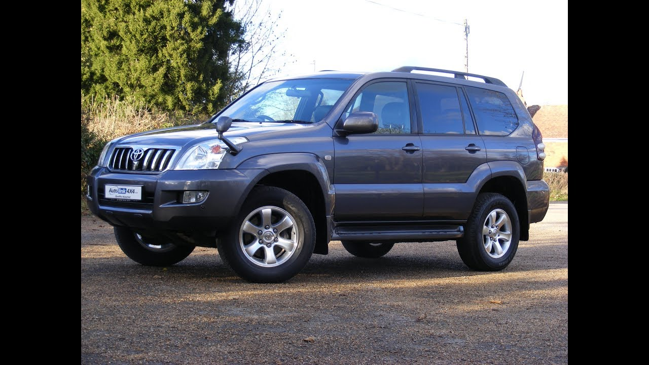 2004 toyota land cruiser prado tz 3 4l v6 petrol for sale. Black Bedroom Furniture Sets. Home Design Ideas