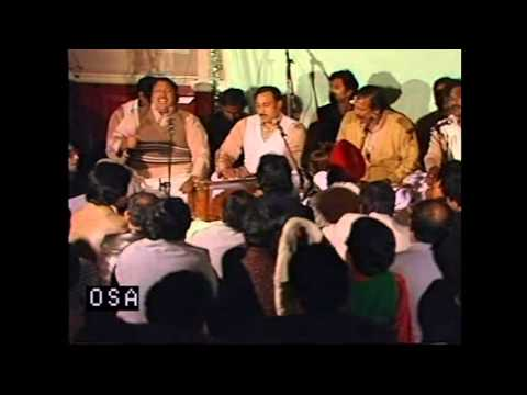 Angrai Par Angrai Leti Hai Raat Judai Ki - Ustad Nusrat Fateh Ali Khan - OSA Official HD Video