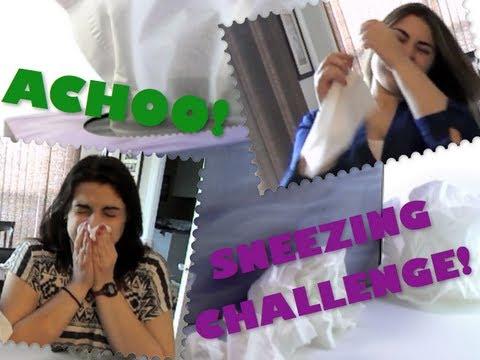 Sneezing Challenge