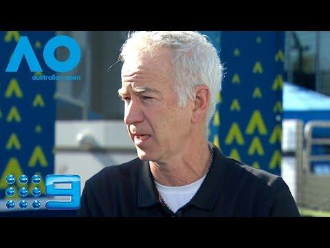 McEnroe criticises Nishikori after Open retirement | Wide World Of Sports