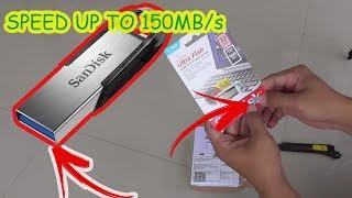 Review SanDisk Ultra Flair USB 3.0 32GB Desain Minimalis - CZ73 150MB/s