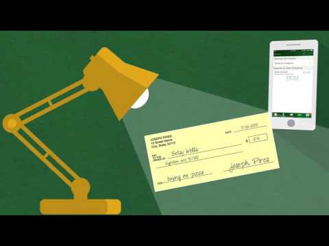 DCU Digital Federal Credit Union - How to Use Mobile Check Deposit