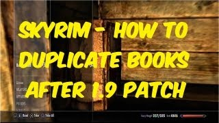 Skyrim How To Duplicate Oghma Infinium Books (And Other Books)