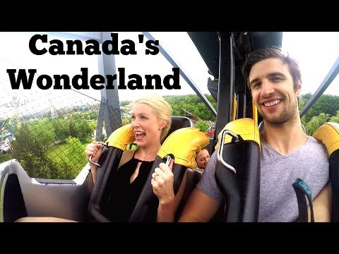 THE BEST ROLLER COASTERS AT CANADA'S WONDERLAND
