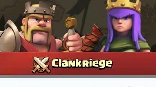 Clash of Clans - Clankrieg # 4 Ganz einfach 2 Sterne bei einem Rathaus 10