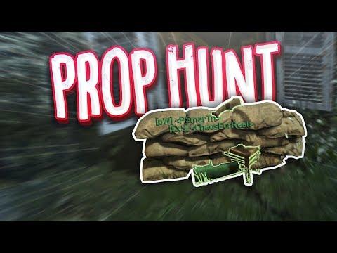 THE ULTIMATE HIDING SPOT!! - COD WW2 Prop Hunt