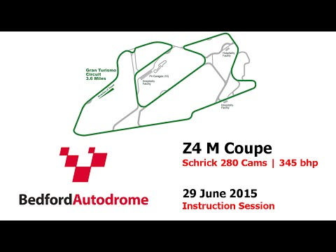 Z4 M Coupe - Bedford Autodrome GT Circuit (29.06.2015) - Instruction