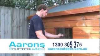 How To Build A Kids Dream Cubby House - Aarons Outdoor Living Backyard Transformations
