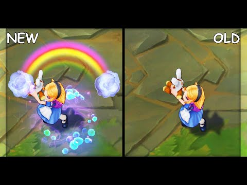 All Annie Skins VFX Update NEW and OLD (League of Legends)