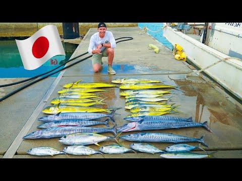 Insane Mahi & Wahoo Fishing In Japan!!!
