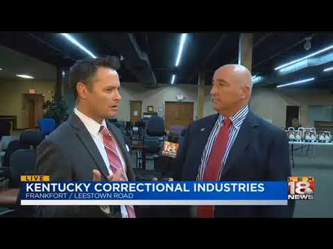 6 AM: Live With Lee: Kentucky Correctional Industries