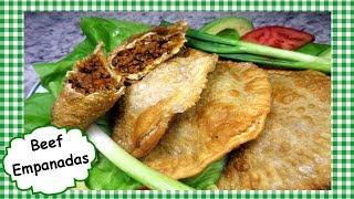 Beef Empanadas Recipe ~ How To Make Homemade Beef Empanada