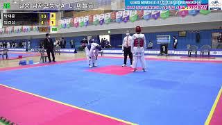 [1코트] 2021 경기도종별 태권도대회(겨루기·품새)…