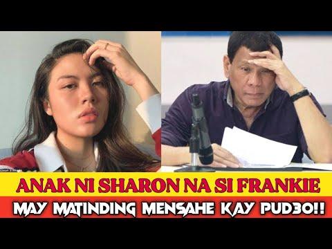 Download ANAK NI SHARON CUNETA NA SI FRANKIE PANGILINAN TINAWAG NA DUWAG PRESIDENTE DUTERTE!!