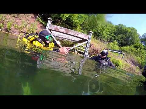 Rumchalpa potápění 2018-5 (diving in the quarry)