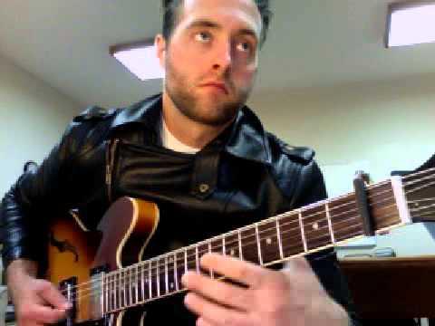 Alan Jackson Small Town Southern Man Guitar Intro Youtube