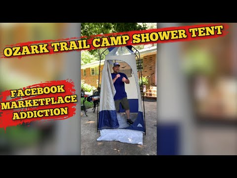 Camping Shower Tent ~ Another Find On Facebook Marketplace