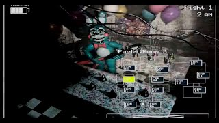 Five Nights at Freddys 2 - Night 1 + 2 Gameplay [No Commentary]