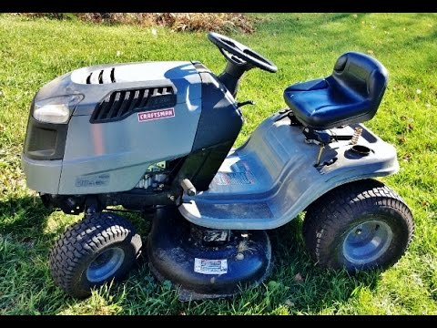 Sears Craftsman Riding Lawn Mower Tractor