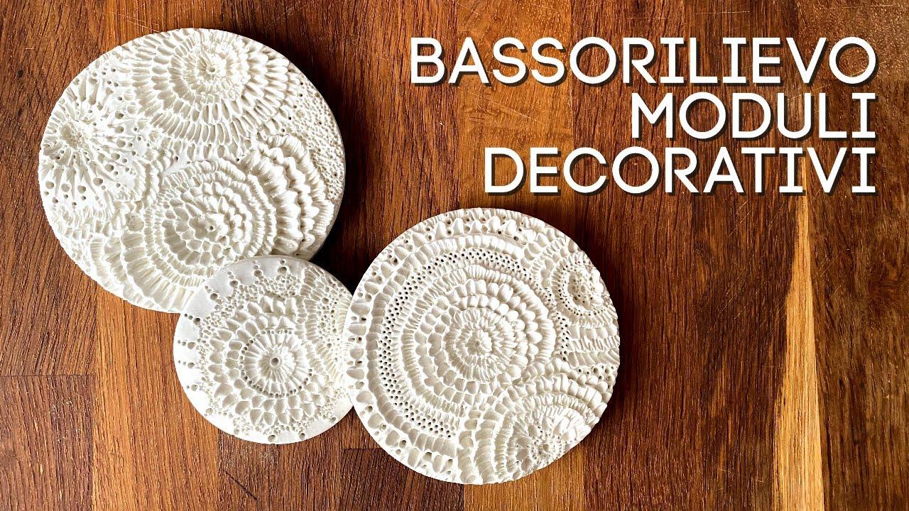 Download Sculture a bassorilievo con paste modellabili ( home decor/ creatività) Arte per Te