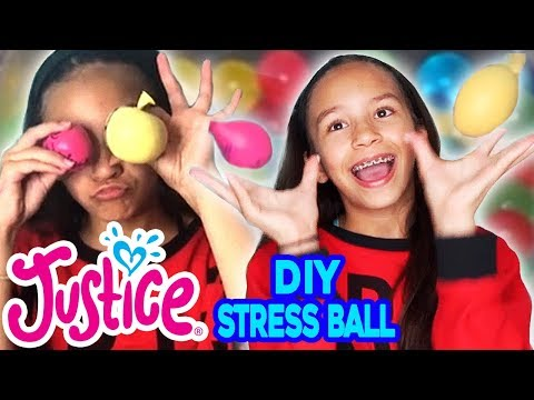 HOW TO MAKE A STRESS BALL 💗 JUSTICE