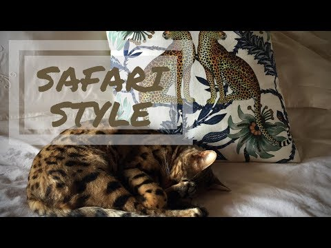 Safari Room Tour | Zimbabwe Travel Out Day| Pretty Little Logs