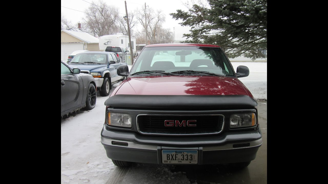 1994 gmc sonoma full review and startup