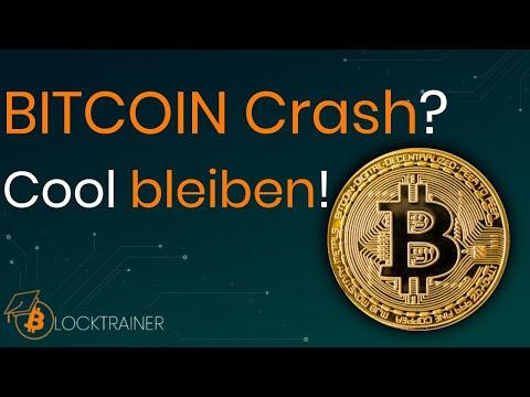 BITCOIN Crash? - Cool bleiben!