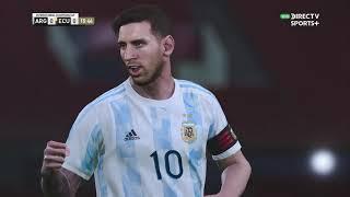 Argentina vs. Ecuador [3-0] | Copa América 2021 - Cuartos de Final | Partido Completo