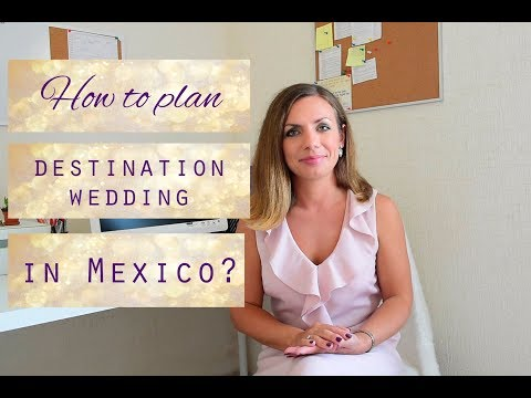 How to plan a destination wedding in Mexico? Plan a beach wedding in Cancun, Tulum, Playa.