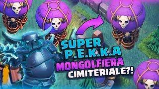 SUPER P.E.K.K.A e MONGOLFIERA CIMITERIALE!? Clash of Clans a 2000 Trofei! + Sala Costruttore