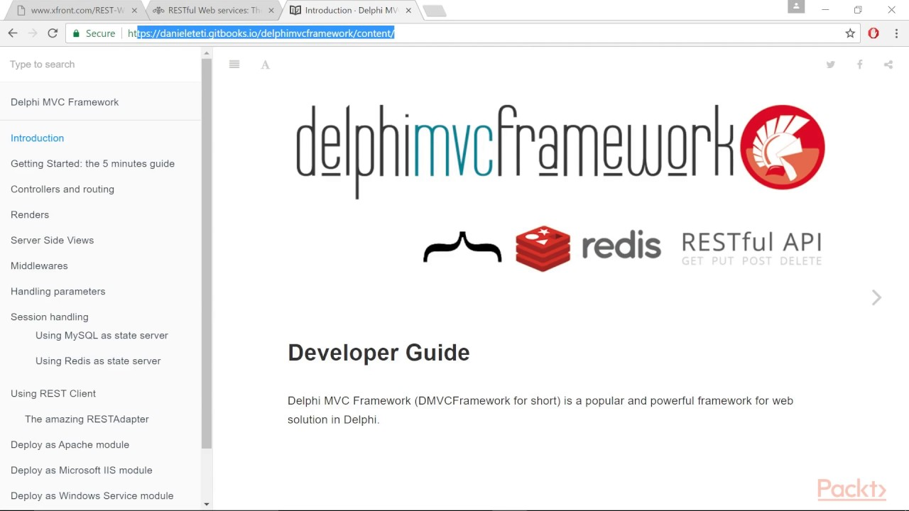 Delphi Solutions - Part 2 : Implementing a RESTful Interface using  WebBroker | packtpub com