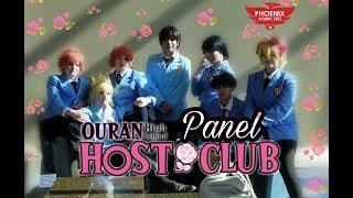 Ouran High School Host Club Panel [Phoenix Comic Fest 2018]