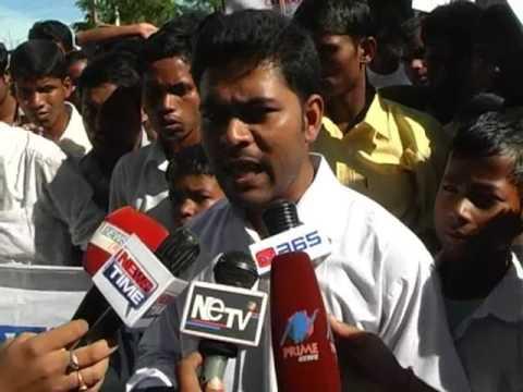 ALL ASSAM SCHEDULED CASTE STADUNTS. protest Dr haris well futureসদৌ অসম অনুসূচিত জাতি ছাত্ৰ সন্থা