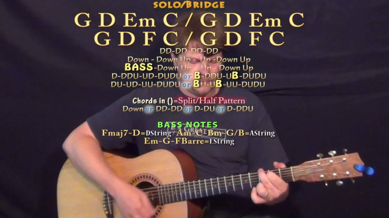 Up Up Coldplay Guitar Lesson Chord Chart G D Em C F Youtube