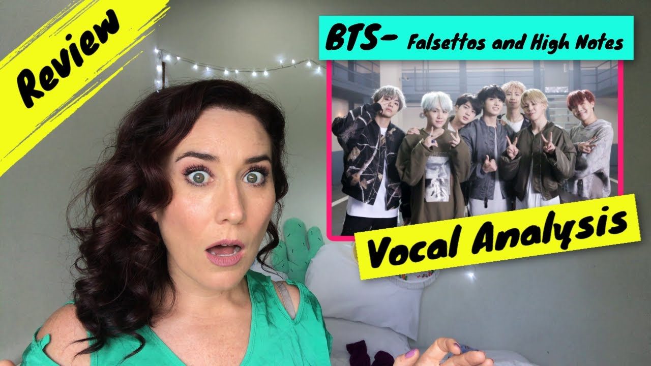 Vocal Coach Reacts BTS - High Notes and Falsettos | WOW! They are...