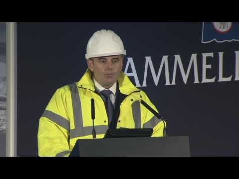 Cammell Laird RRS Sir David Attenborough Keel Laying Ceremony - 17th October 2016