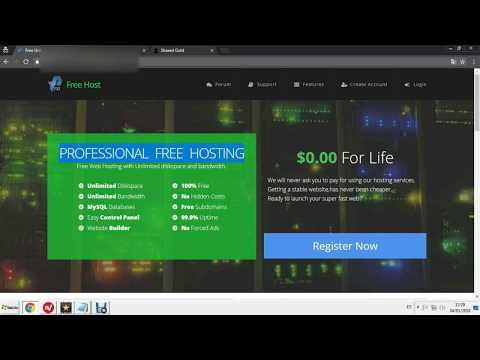 hosting-free-unlimited-2018-life-time
