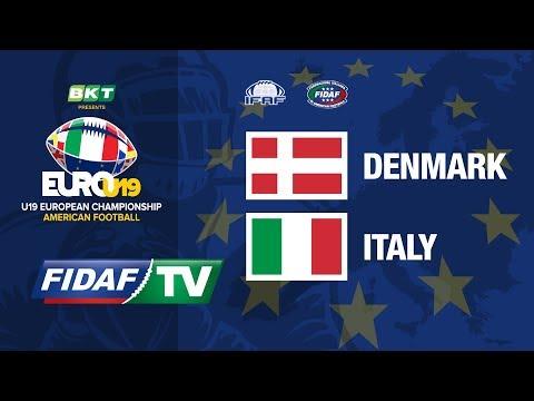 Euro U19: Denmark Vs Italy