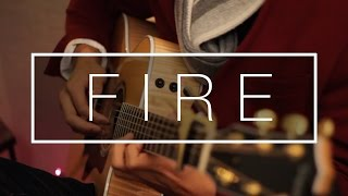 Fire ft. NÉONHÈART (3LAU + Said the Sky) - Fingerstyle Acoustic Guitar Cover