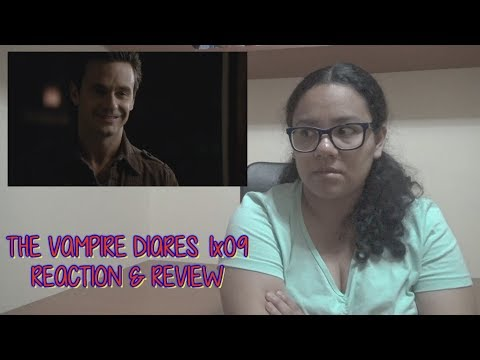 "The Vampire Diaries 1x09 REACTION & REVIEW ""History Repeating"" S01E09 
