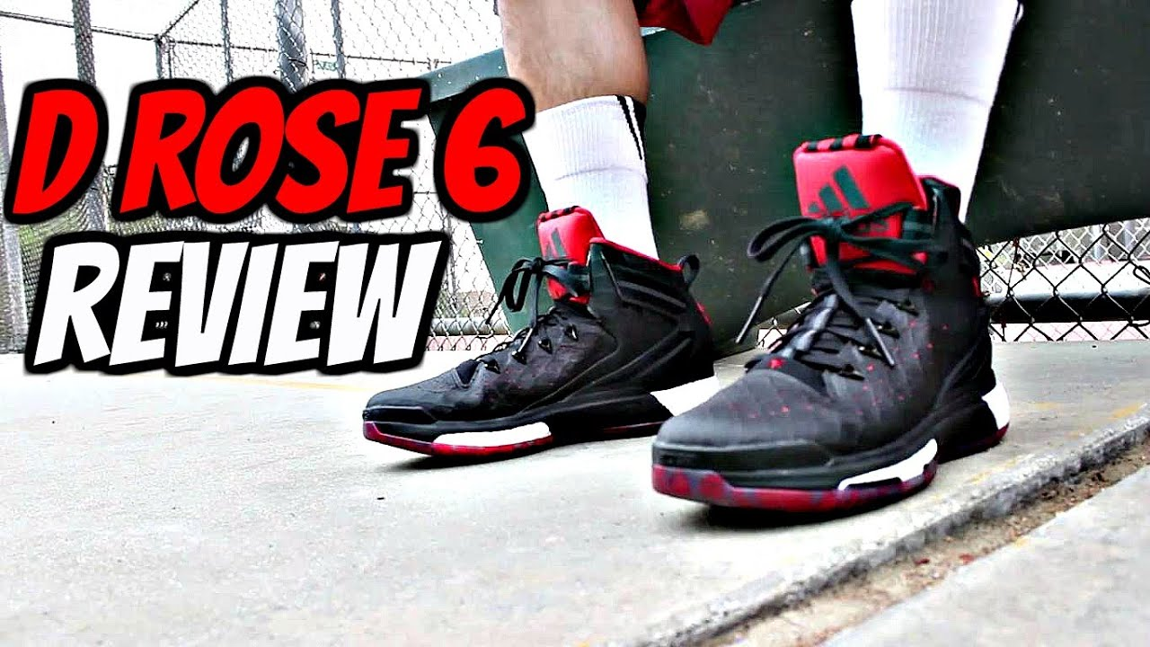 36a0f22ea9f Adidas D Rose 6 Boost Performance Review! - YouTube