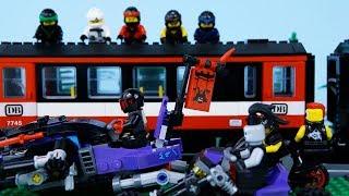 LEGO Ninjago | STOP MOTION | Ninja Train Robbery | LEGO Ninjago Sons of Garmadon | By Billy Bricks