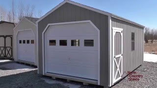 12' X 18' Wooden Portable Garage | Sheds Kingston | Garden Sheds | Sheds Ottawa | Sheds Belleville