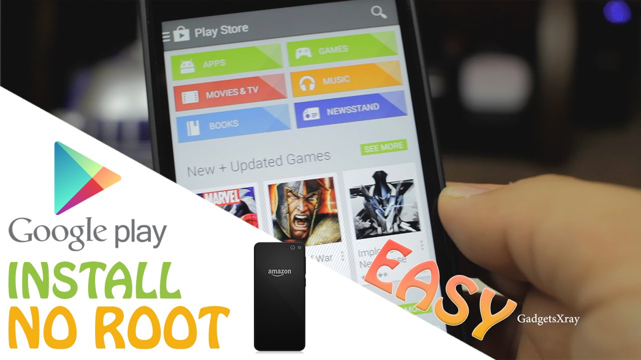 Phone App Store For Rooted Android Phones fire phone easy how to install google play store without root youtube