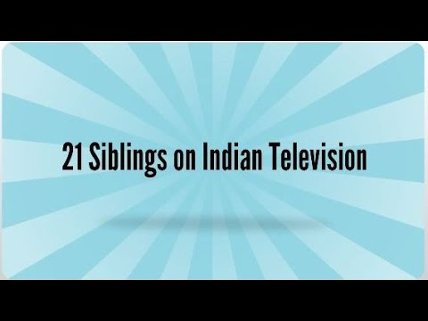 Top 21 Real life Siblings who are TV Actors : Brothers and Sisters in Indian Television Industry