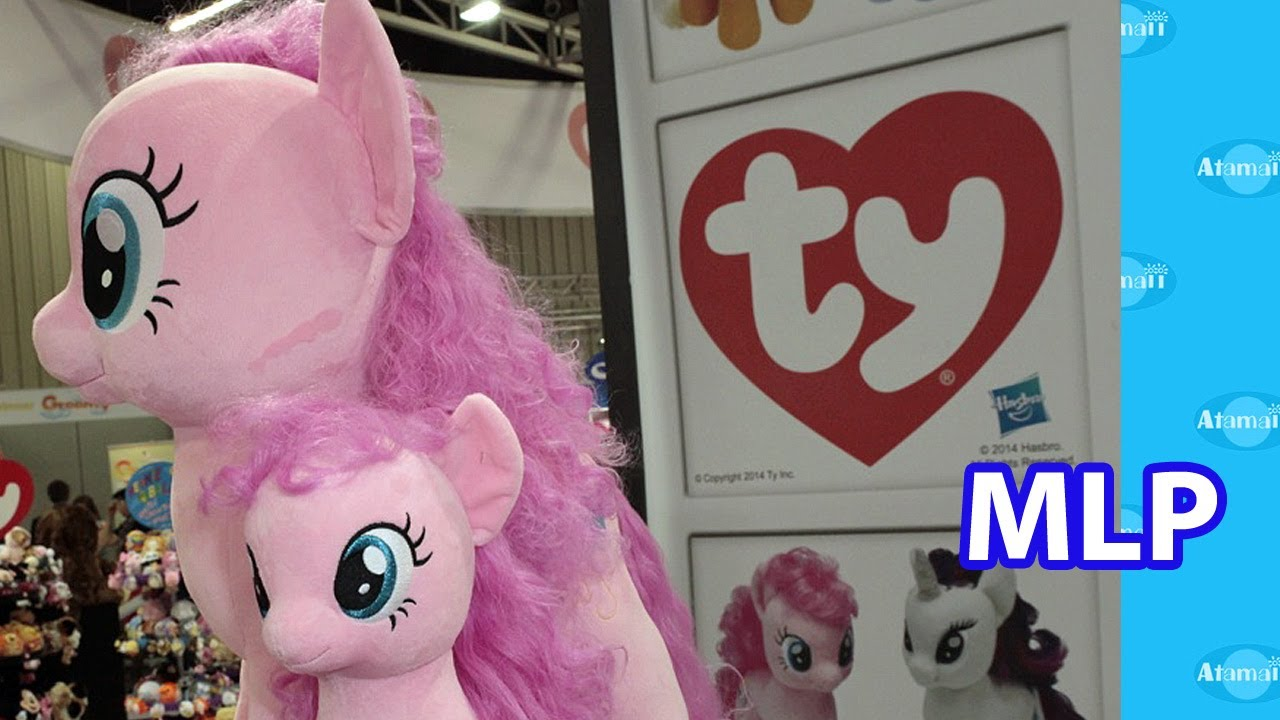 Mlp Plush Toys From Ty Nuremberg Toy Fair Preview Youtube
